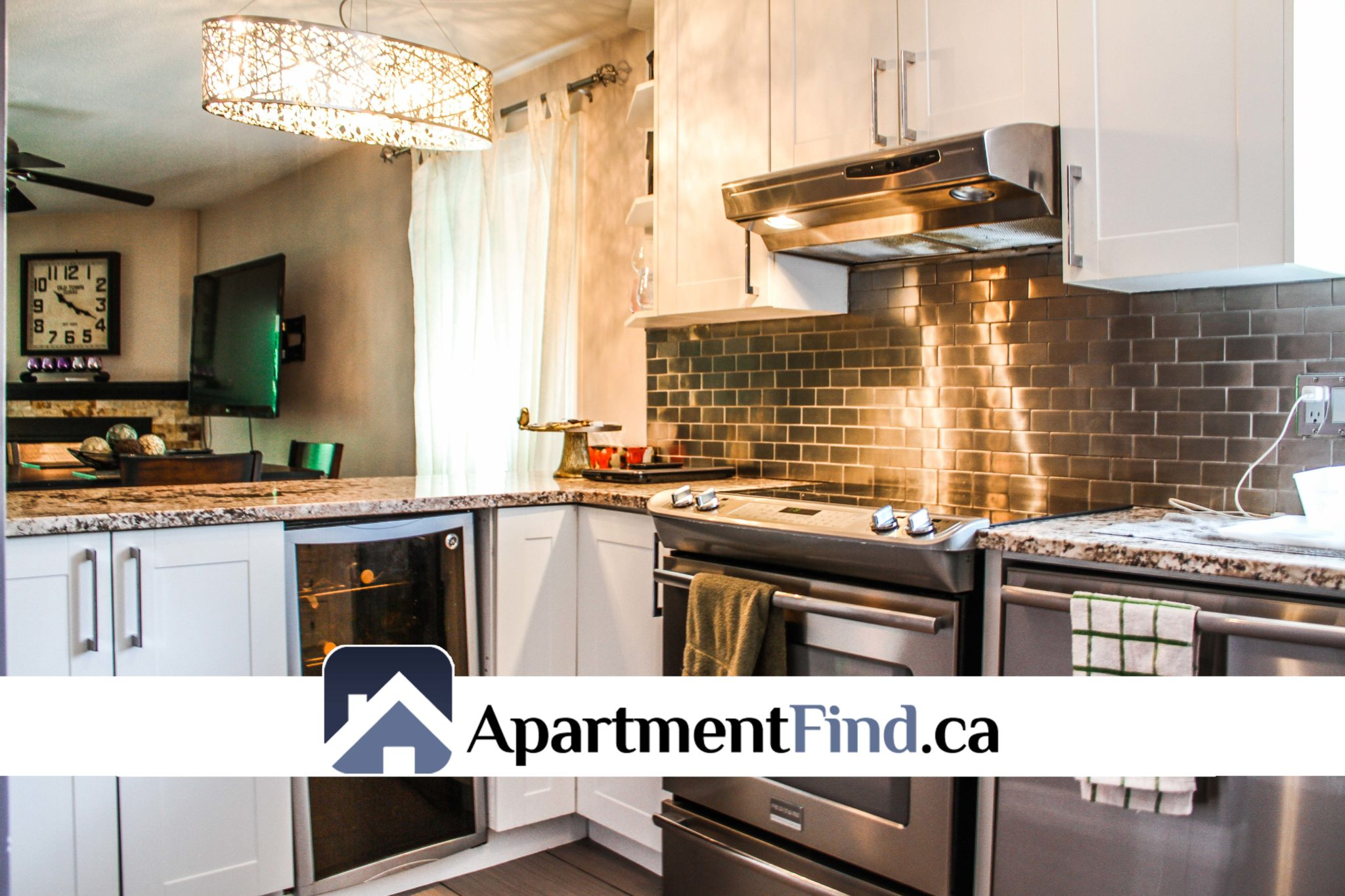 Kitchen of this Condo for rent in Orleans at 6625 Bilberry Drive #A (Orléans) - 1895$