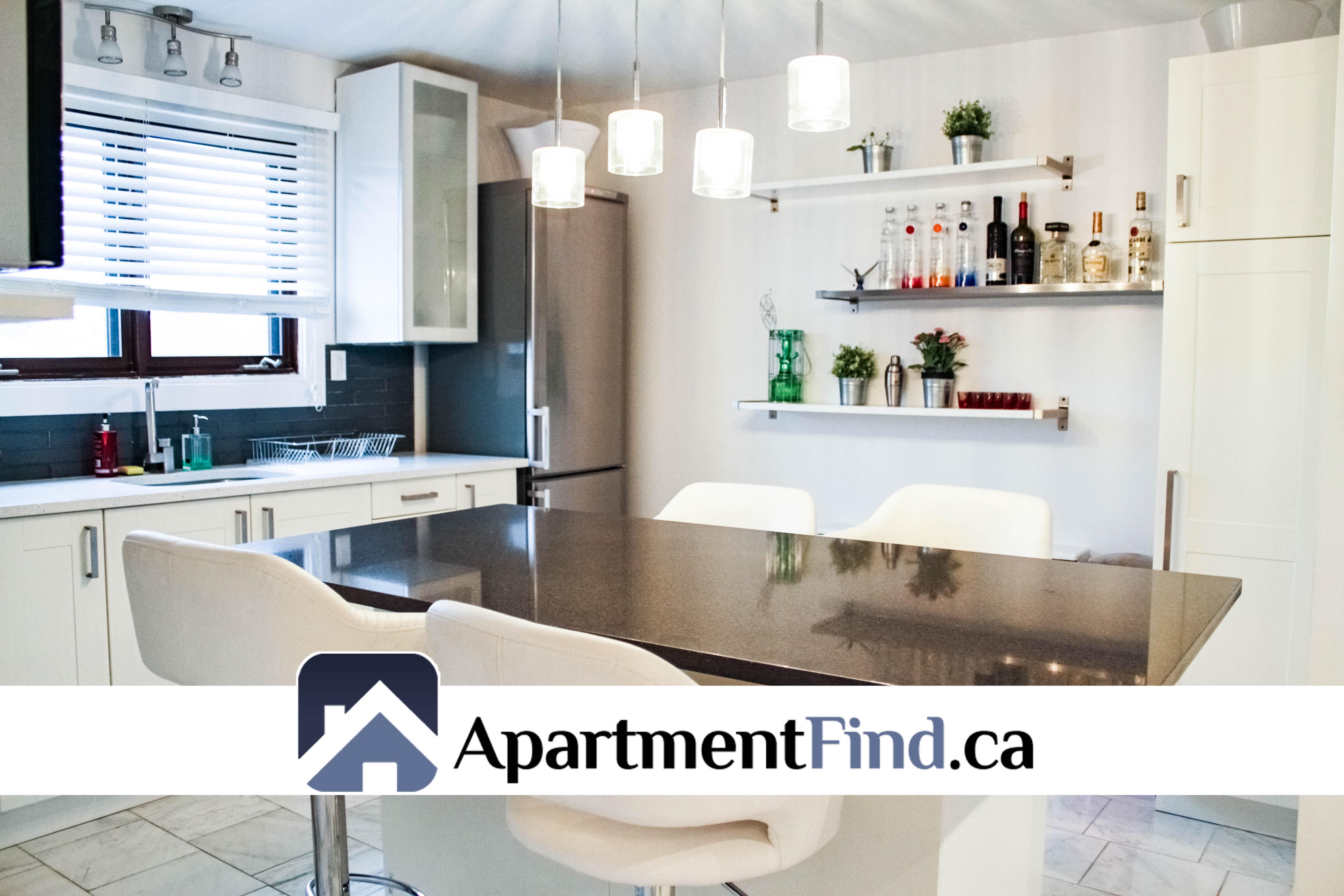 Kitchen of this 2 bedroom apartment ottawa - 198 Lavergne Street