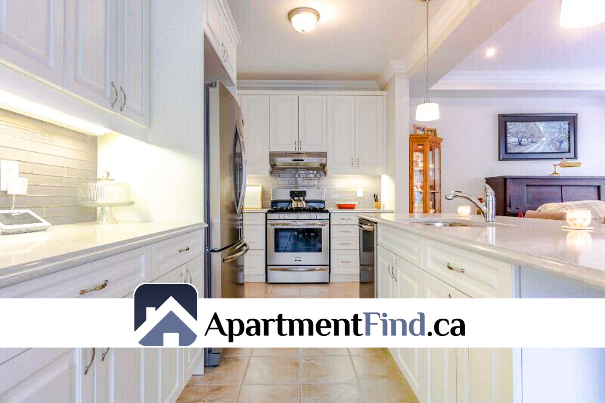 House for rent in Kanata kitchen-tile-floor-beamed-ceiling-stainless-steel-1239618