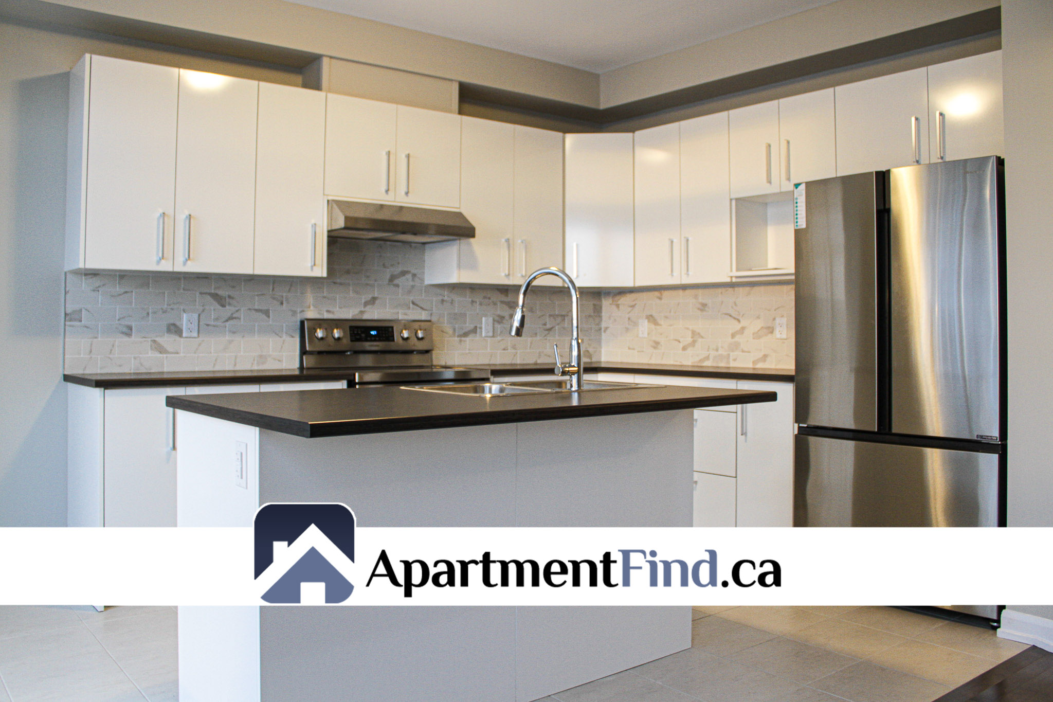 Kitchen of the house for rent in orleans at 649 Jerome Jodoin Drive