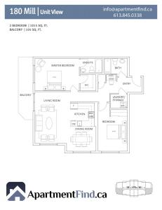 180Mill.2Bedroom Type2